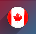 Small Canada Flag Icon