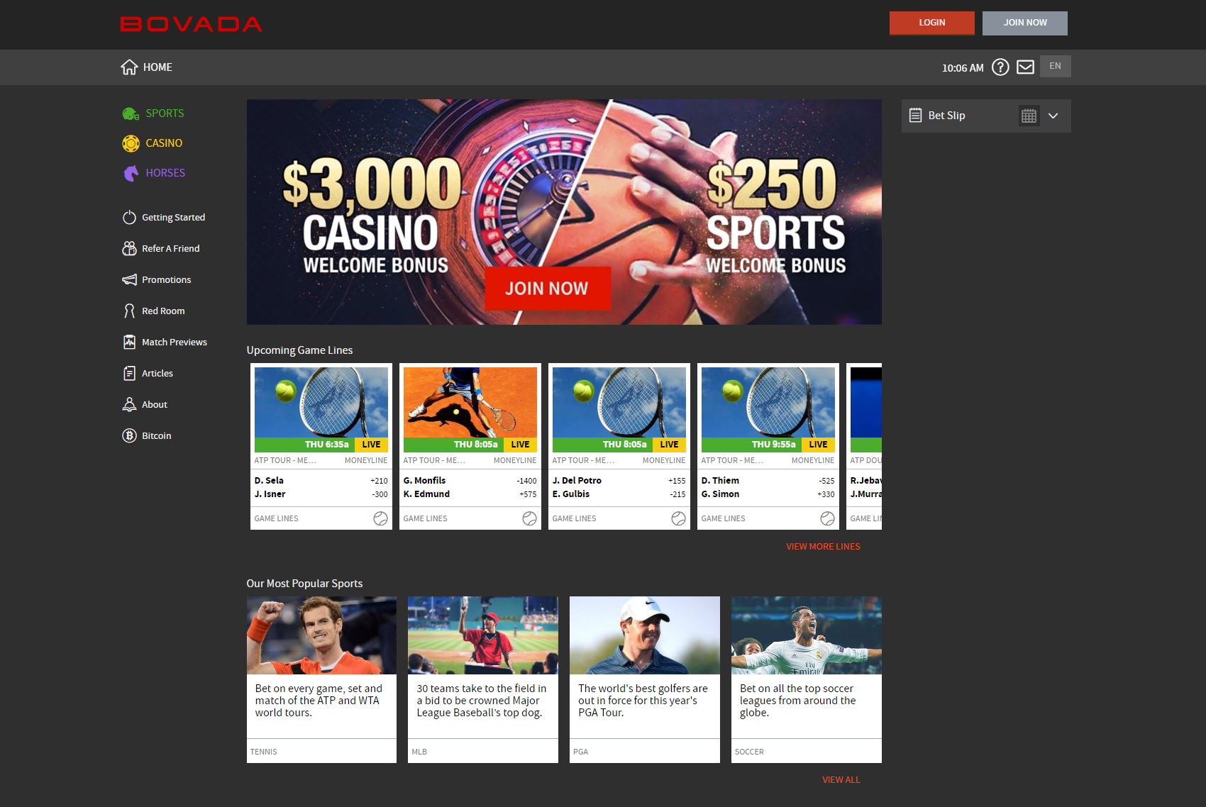 Bovada Casino Review for 2018 - Honest Review of Bovada lv