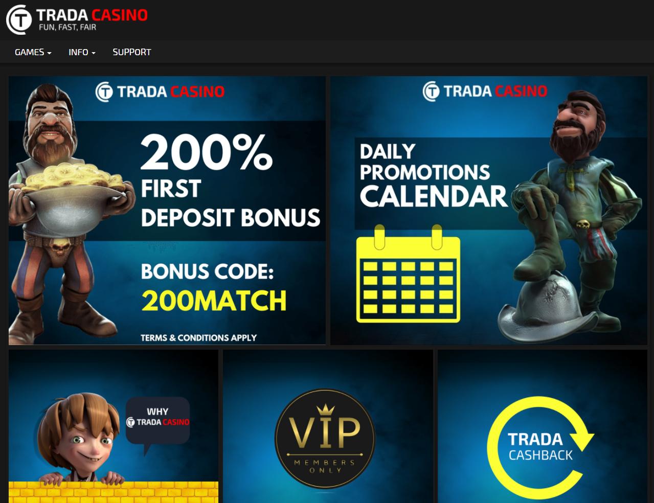 Trada Casino Reviews