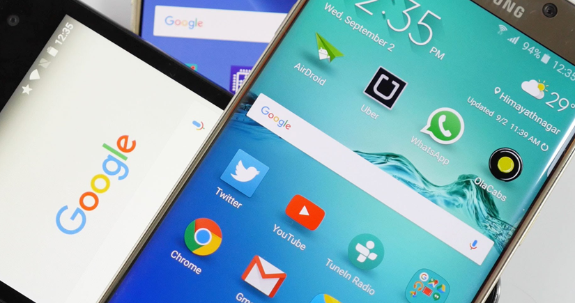 android phones with google
