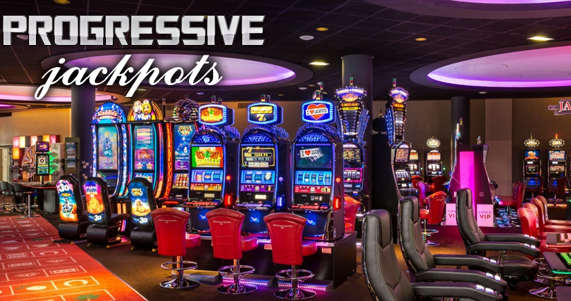 casino and progresive jackpots